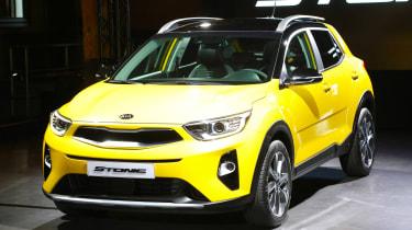 Kia Stonic - studio yellow
