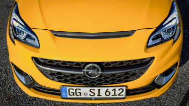Vauxhall Corsa GSi - grille