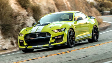 Ford Mustang Shelby GT500 - front cornering