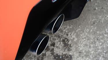 Lexus RC F exhaust