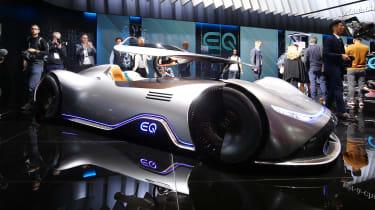 Mercedes EQ Silver Arrow front