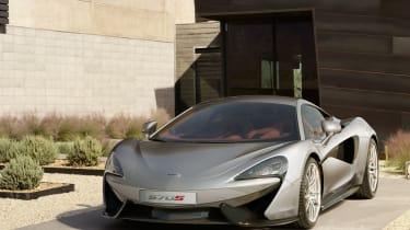 McLaren 570S - front static