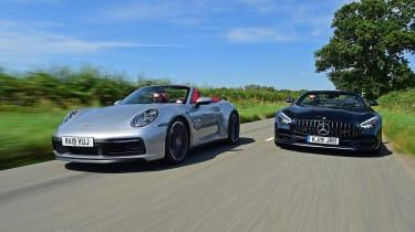 Porsche 911 Cabriolet vs Mercedes-AMG GT Roadster - head-to-head