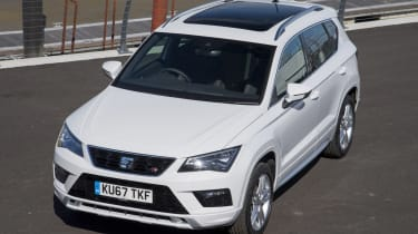SEAT Ateca 2.0 TSI - front above