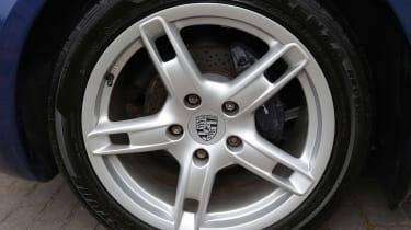 Used Porsche Boxster - wheel