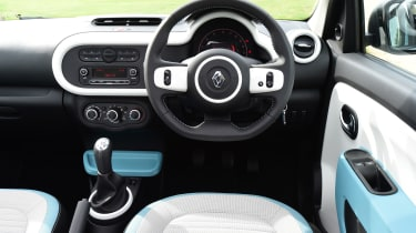 Renault Twingo The Colour Run - interior