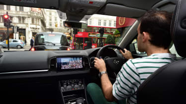Skoda Karoq road trip - London