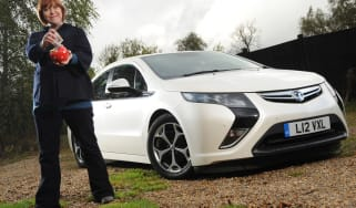 Vauxhall Ampera front static