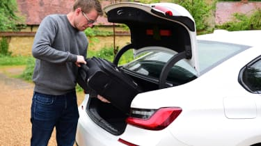 BMW 3 Series long termer - first report boot loading