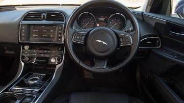 Used Jaguar XE - dash