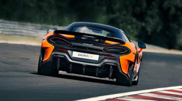 McLaren 600LT - full rear