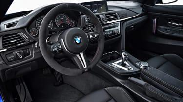 BMW M4 CS 2017 interior