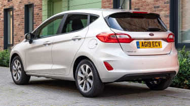 Ford Fiesta Trend - rear 3/4 static