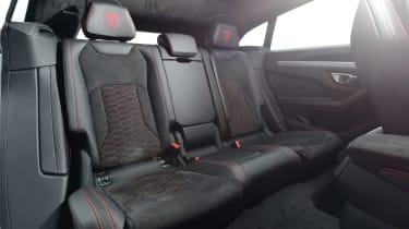 Lamborghini Urus - back seats