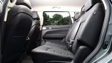 SsangYong Rexton 2021 facelift -  rear seats