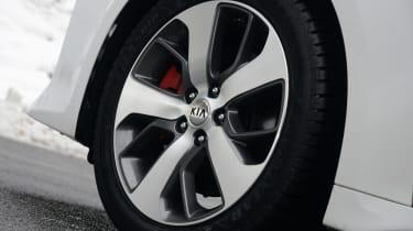 Kia Optima GT - wheel detail