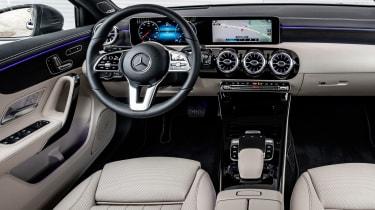 Mercedes A-Class - dash