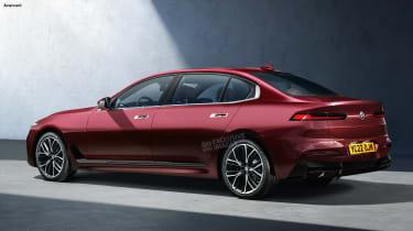 BMW 7 Series - rear (watermarked)