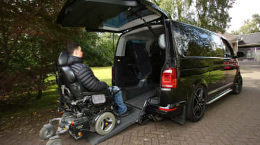 Disability driving feature - VW loading rear