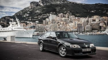 Lotus Carlton front quarter