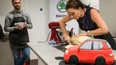 skoda fabia cake bake candice brown