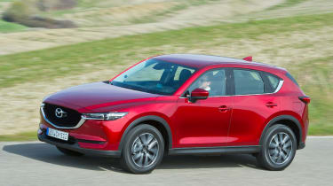 Mazda CX-5 2017 - manual Tuscany side tracking 3
