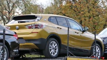 BMW X2 spy shot - rear quarter