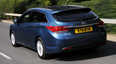 Hyundai i40 Tourer rear tracking
