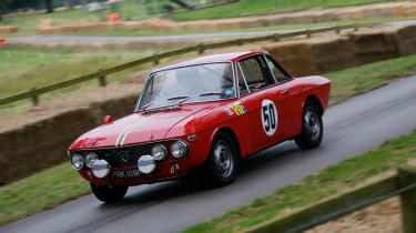The Lancia Fulvia kicked off Lancia's incredible rally career, winning the International Rally Championship in 1972.