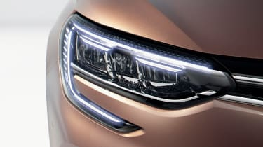 Renault Megane - front light