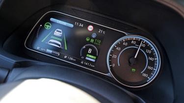 Nissan Leaf - dials