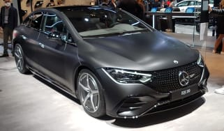 Mercedes EQE - Munich front