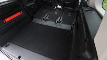 Peugeot Rifter folded rear seats