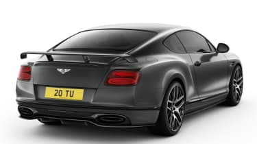 Bentley Continental Supersports 2017 - official rear quarter