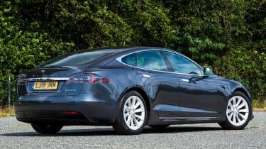 Tesla Model S - rear static
