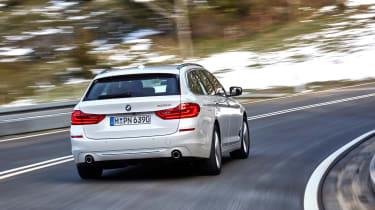 BMW 5 Series Touring - rear cornering