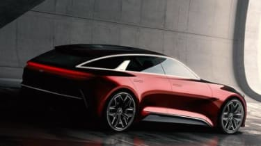 Kia Concept Frankfurt - rear