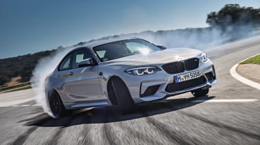BMW M2 Competition - front drift