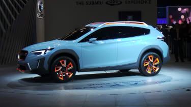 Subaru XV concept - show side
