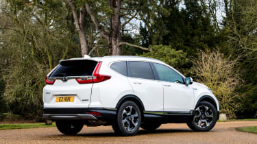 Honda CR-V hybrid - rear static