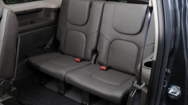 Nissan Pathfinder rear seats