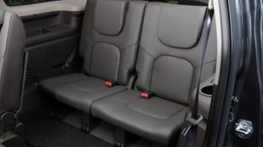 Nissan Pathfinder rear seats