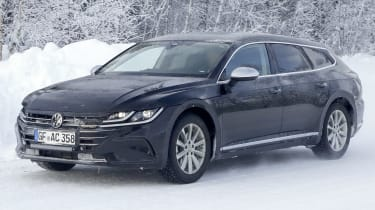 2020 Volkswagen Arteon Shooting Brake - front 3/4 tracking