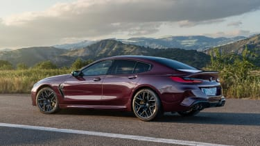 BMW M8 Gran Coupe - rear static