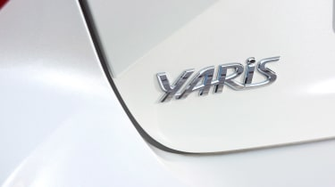 Toyota Yaris - Yaris badge