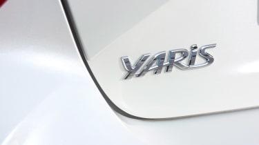 Toyota Yaris - Yaris badge