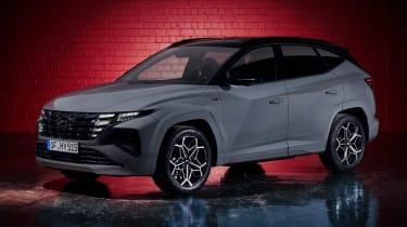 Hyundai Tuscon N Line - front static