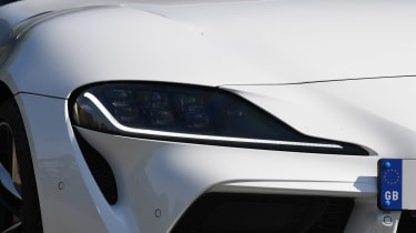 Toyota Supra - front light