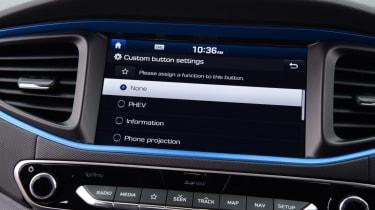 Hyundai Ioniq - screen