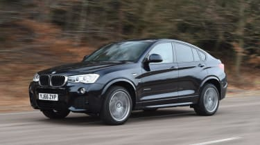Used BMW X4 - front action